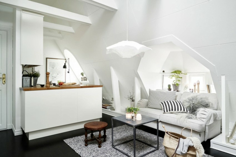petit appartement stockholm suède idées