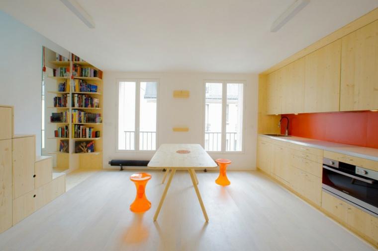 petit appartement paris france idées de design minimaliste