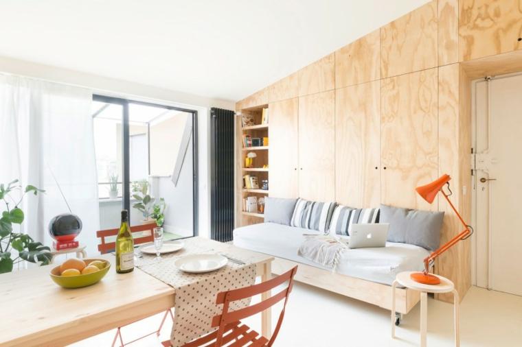 décoration de la maison petit appartement idées de murs en bois