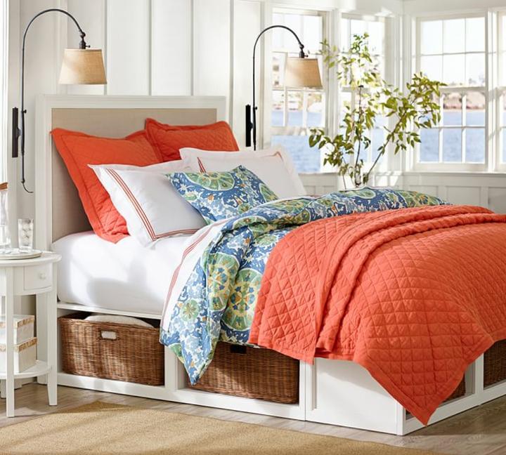 les chambres modernes sauvent des idées de lit