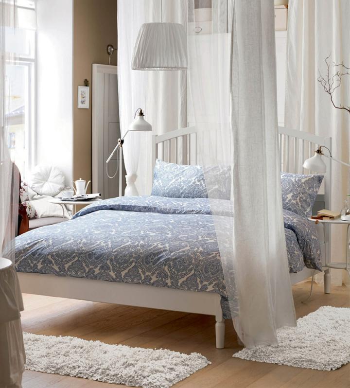 idées pour les chambres modernes idées de rideaux blancs