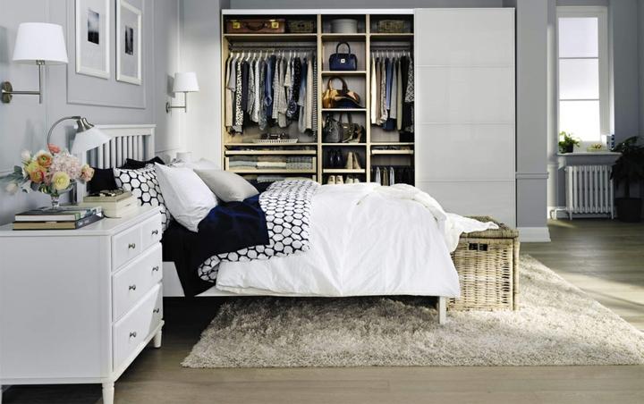 idées pour les chambres modernes idées de meubles blancs
