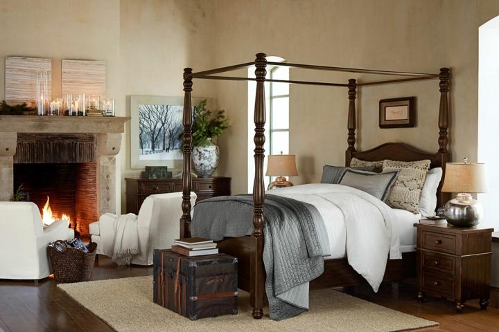 chambres modernes idées de lit à baldaquin classique