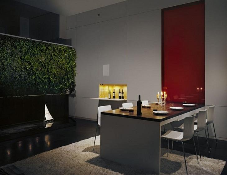 idées de murs jardins fréquences intérieures