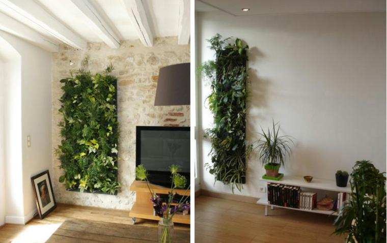 design d'intérieur plantes déco mur