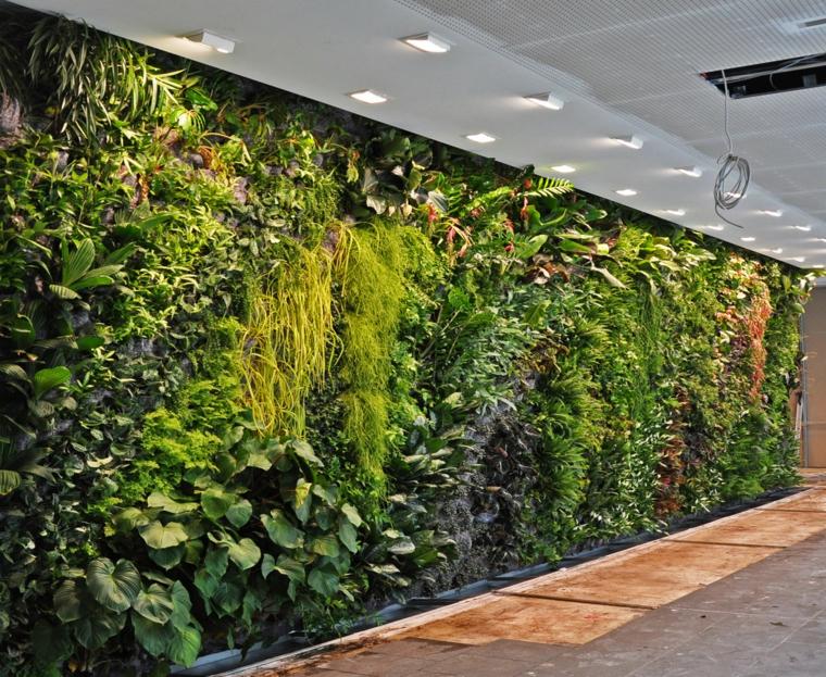 conception de jardin vertical spectaculaire