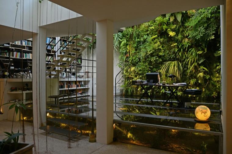 design d'intérieur murs jardins déco