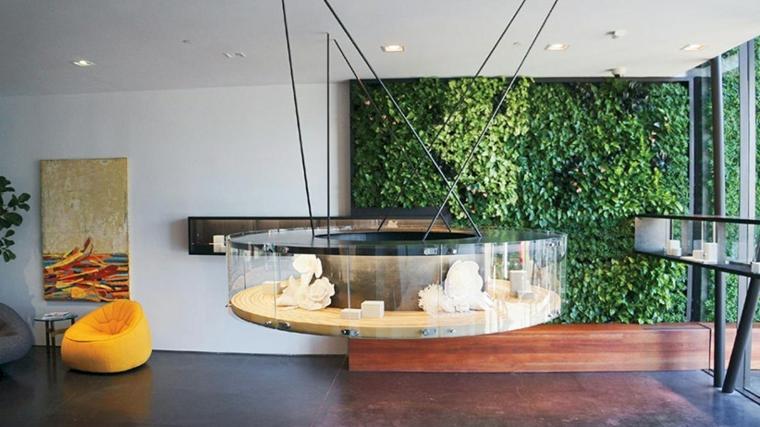 intérieur de style contemporain moderne