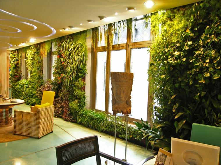 décoration originale de plantes d'intérieur
