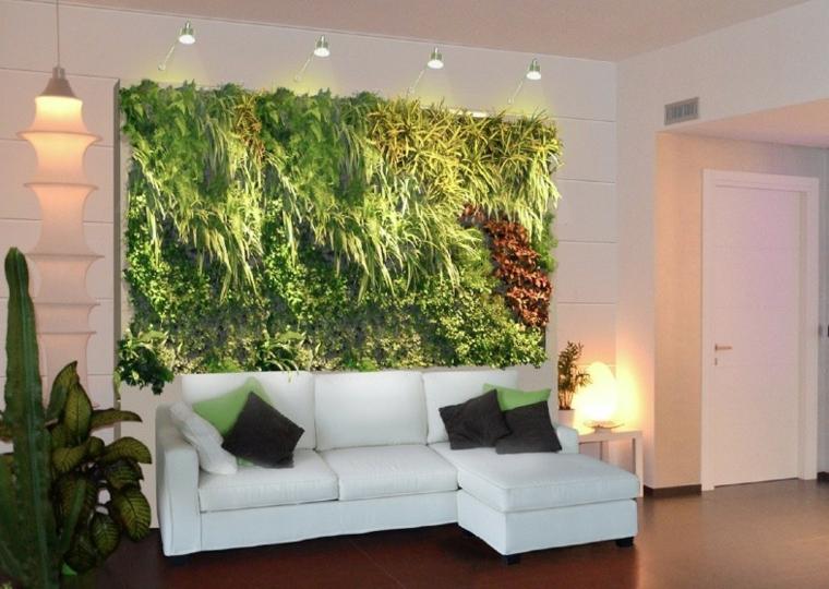conception de jardin de mur de mur