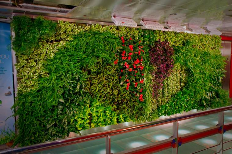 panneau de jardin vertical d'intérieur