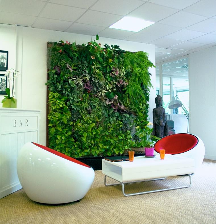 plantes de design moderne de salon
