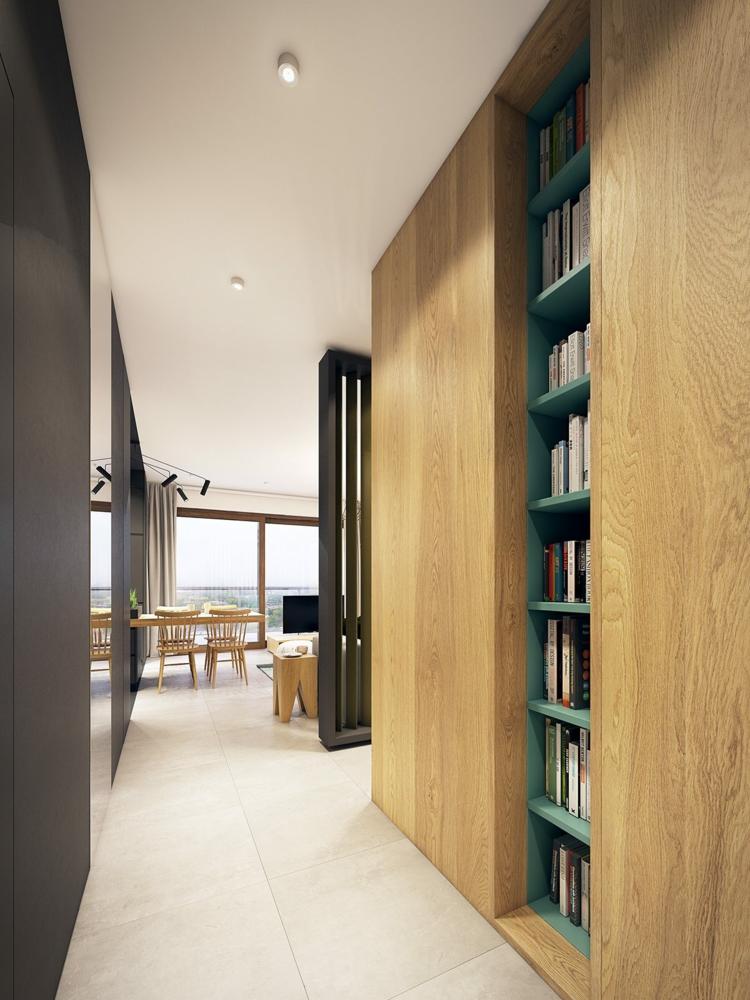 variations intenses espaces chaises couloir
