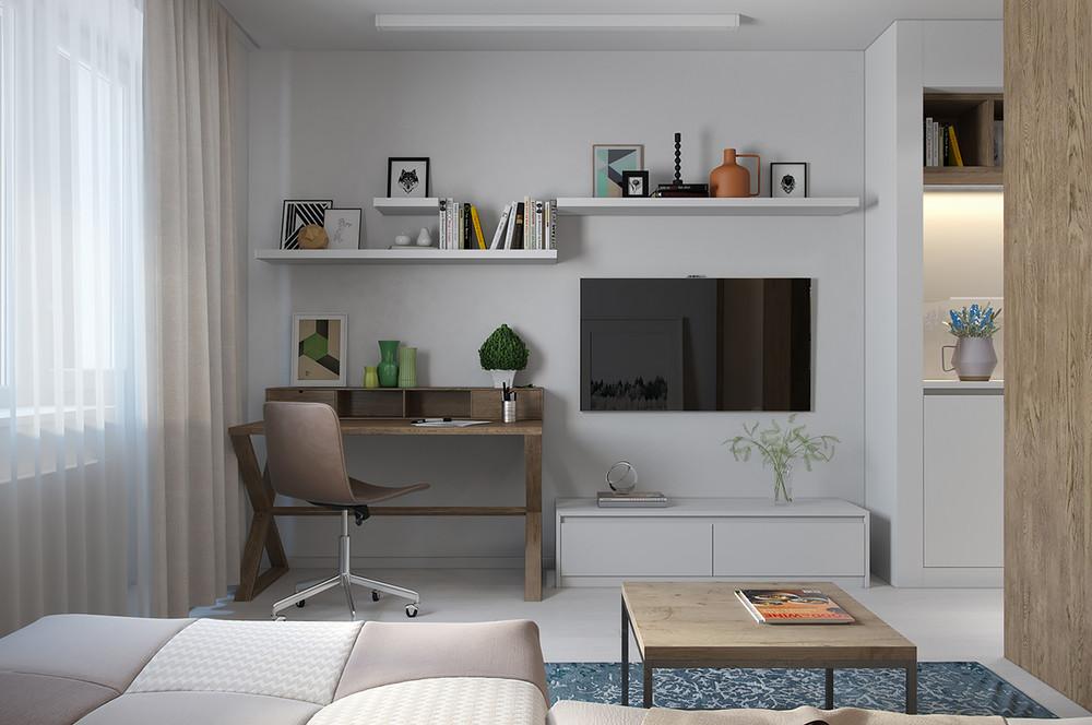 décoration simple de petit appartement