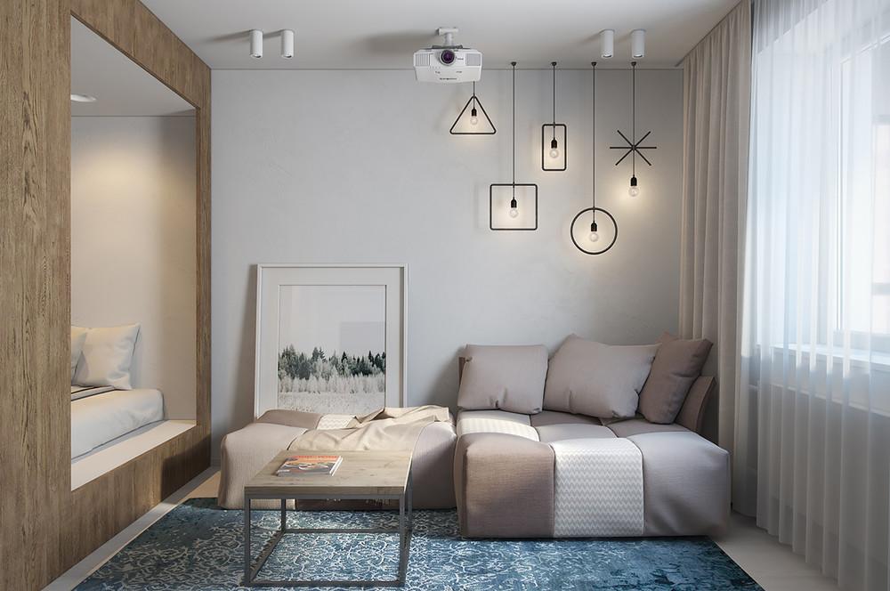 décoration de petits appartements loft