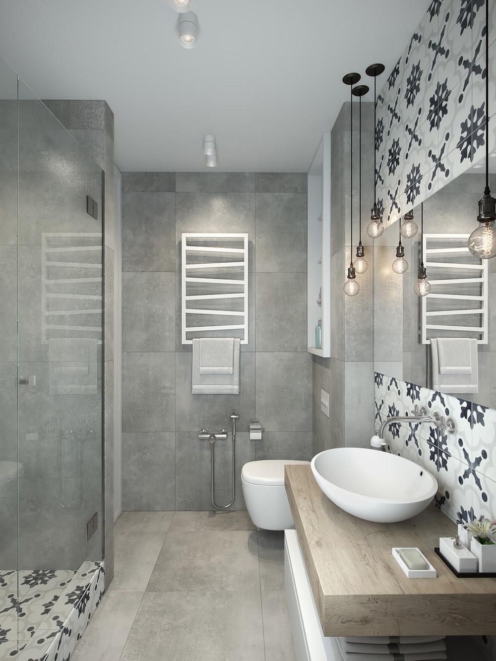 décoration d'appartements petites salles de bains