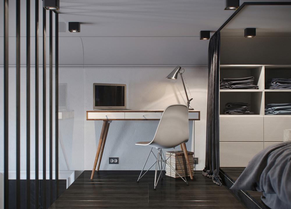 meubles simples de style scandinave