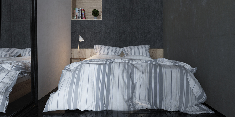 design de chambre minimaliste original