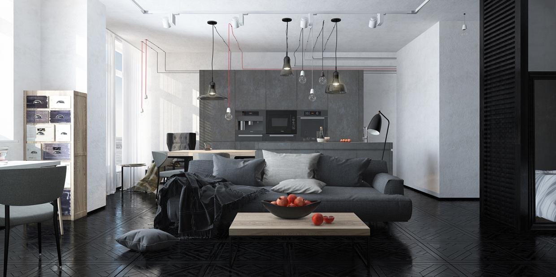 décoration nuances couleur grise
