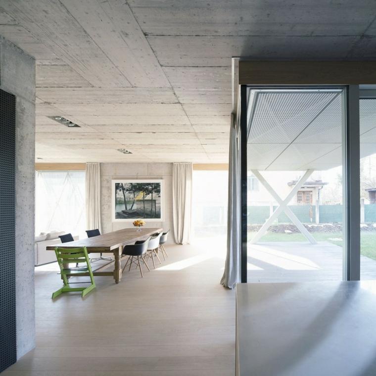 OFIS Architects Design House Idées de murs en béton