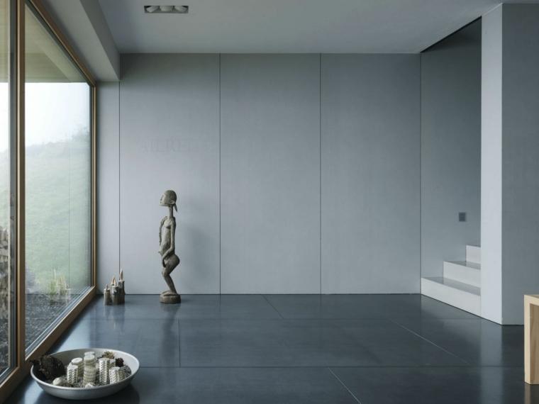 idées de conception minimaliste de maison de mur en béton