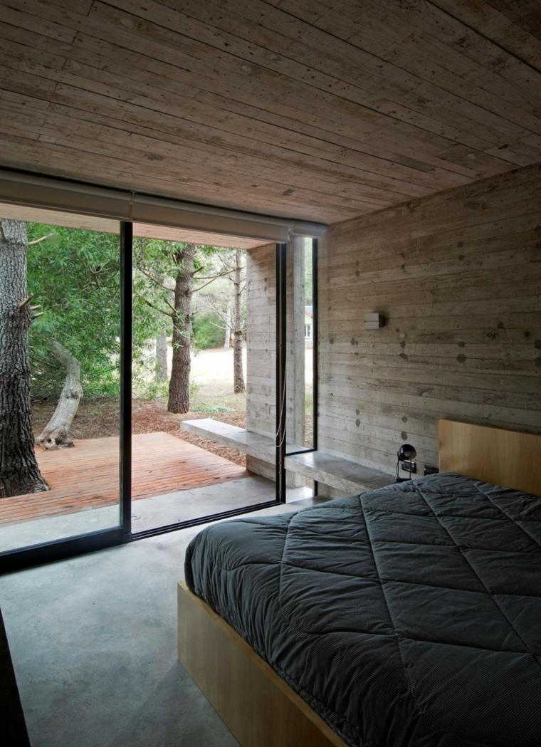 Options de maison de mur en béton idées de chambre à coucher
