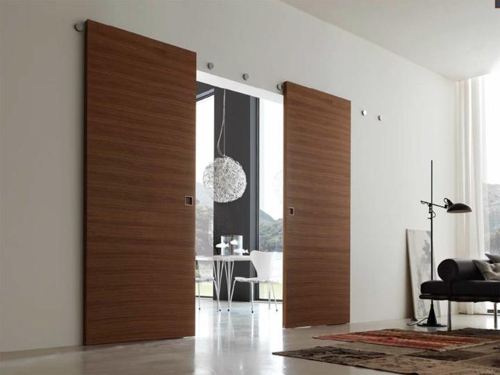 portes coulissantes design tapis de piscine horloges