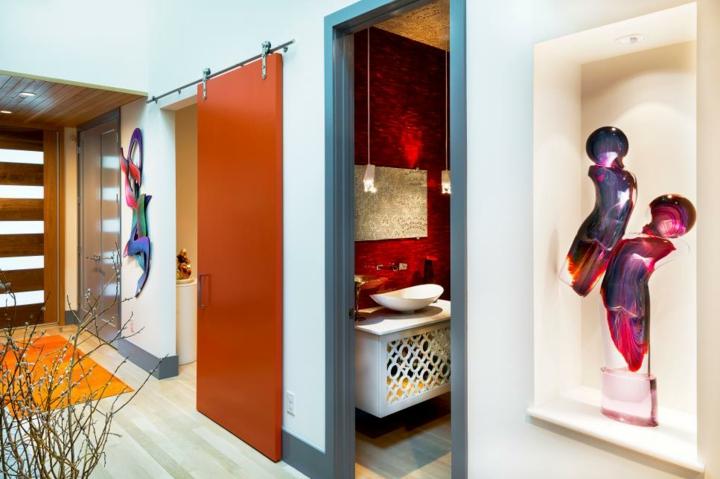 portes coulissantes design style murs arts lignes