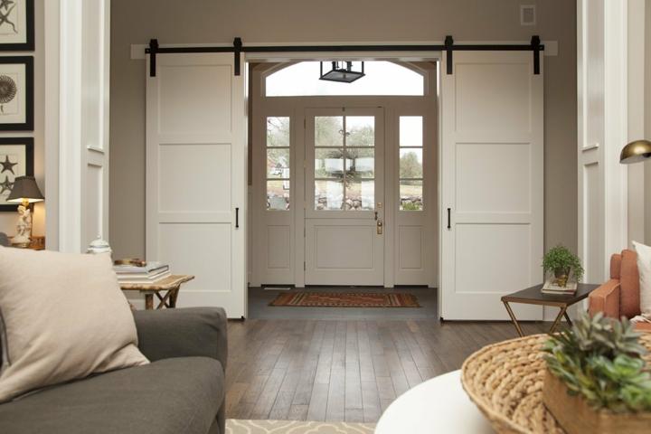 portes coulissantes design style cordes blanches
