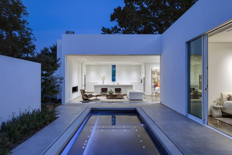 petite maison terrasse piscine idées de design moderne