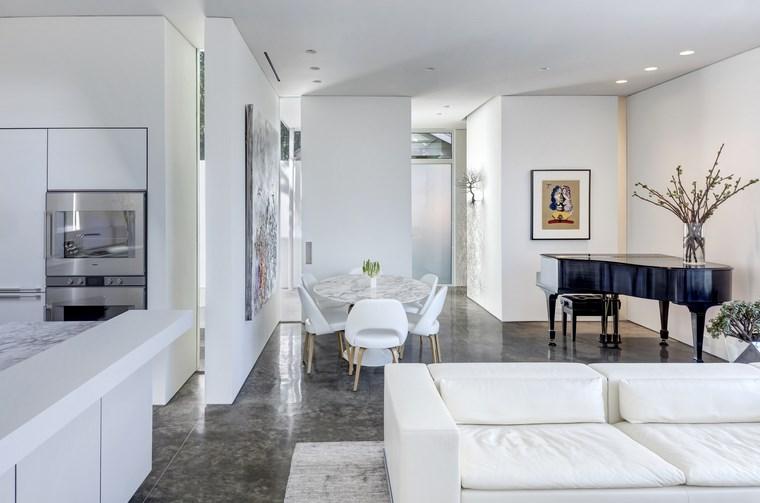 petite maison blanche meubles idées de piano