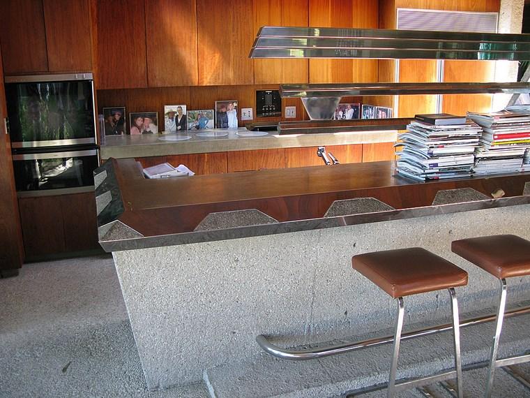 cuisine maison bar tabourets hauts idées de meubles en bois