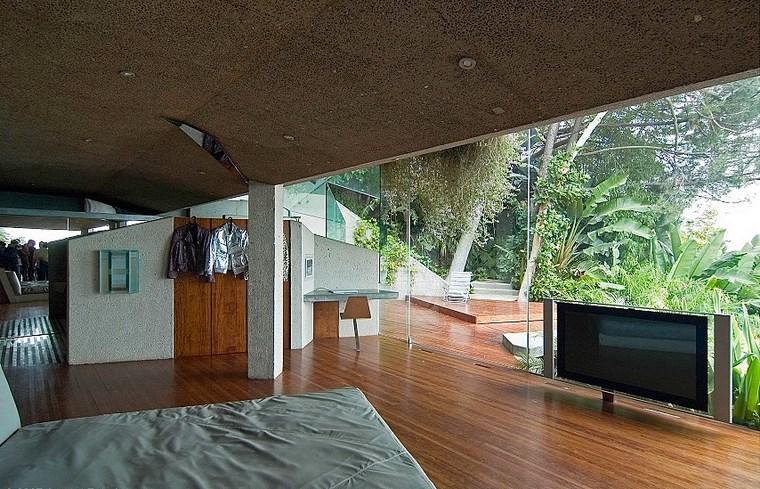 Idées de planchers de bois pour maison de chambre à coucher