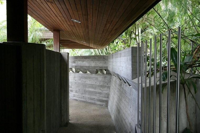 Résidence Hill House Murs Idées de béton