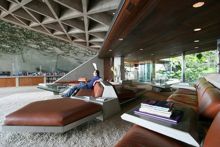 meubles de salon de la colline de la résidence idées en cuir