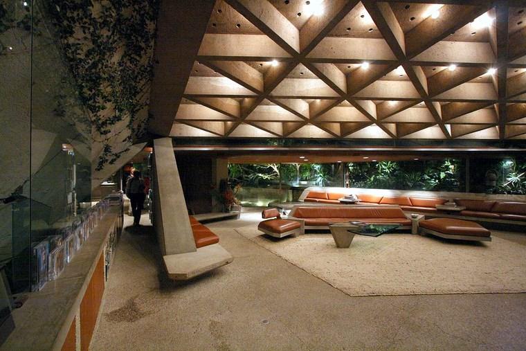 grandes idées de conception de meubles d'éclairage de salon