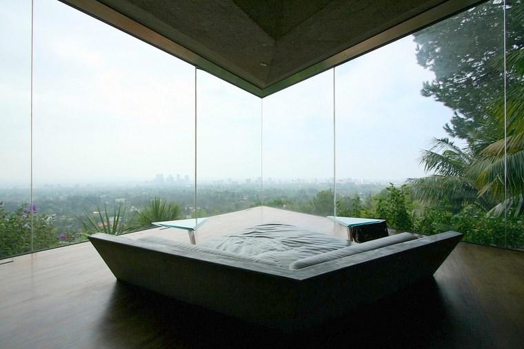 vue sur le canapé chambre maison idées de colline