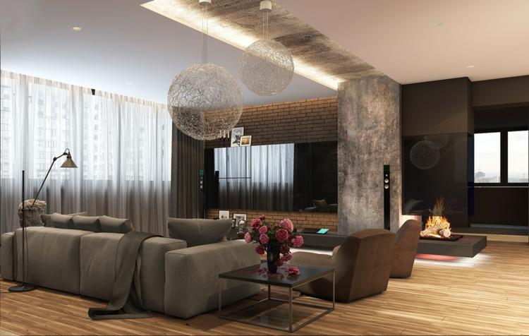 éclairage design rideaux dectalles led