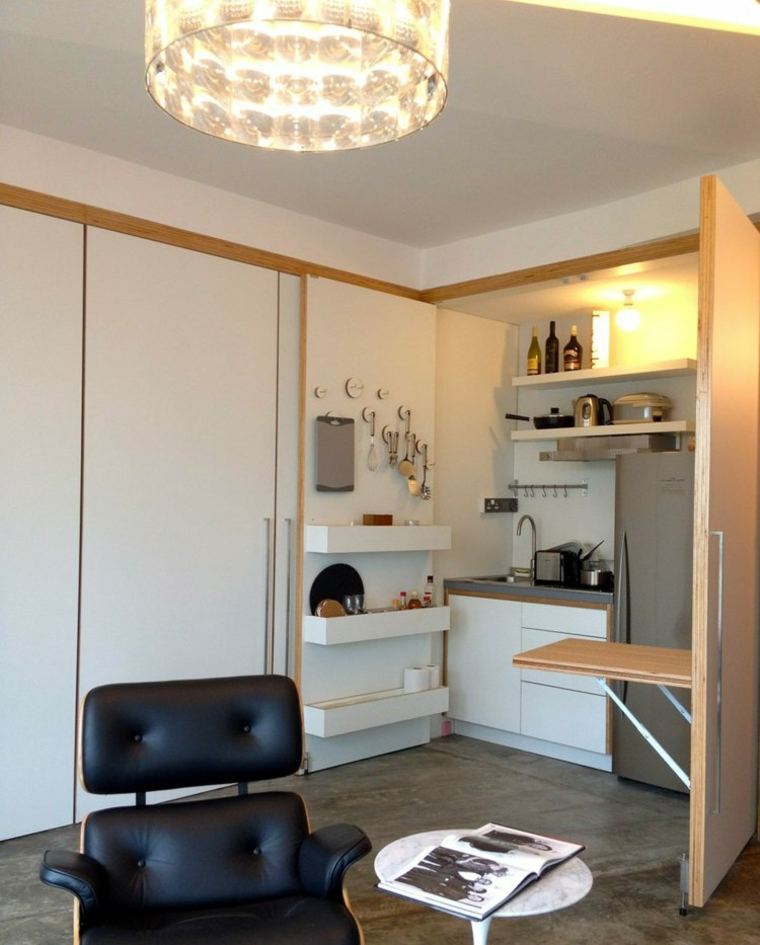 distribution d'appartements espace fonctionnel chaleureux
