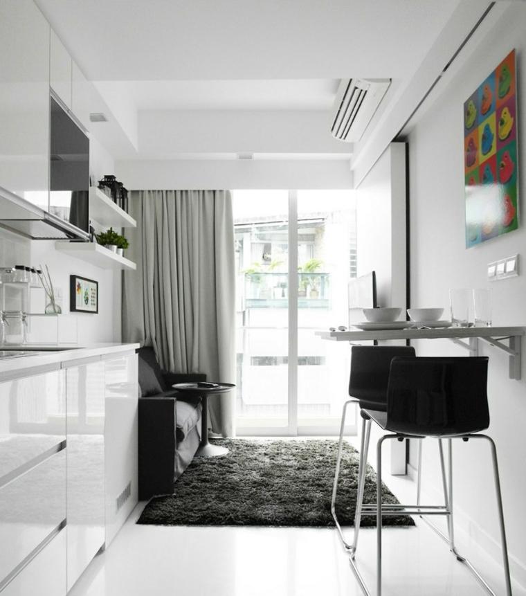 meubles de mur en verre de distribution d'appartements
