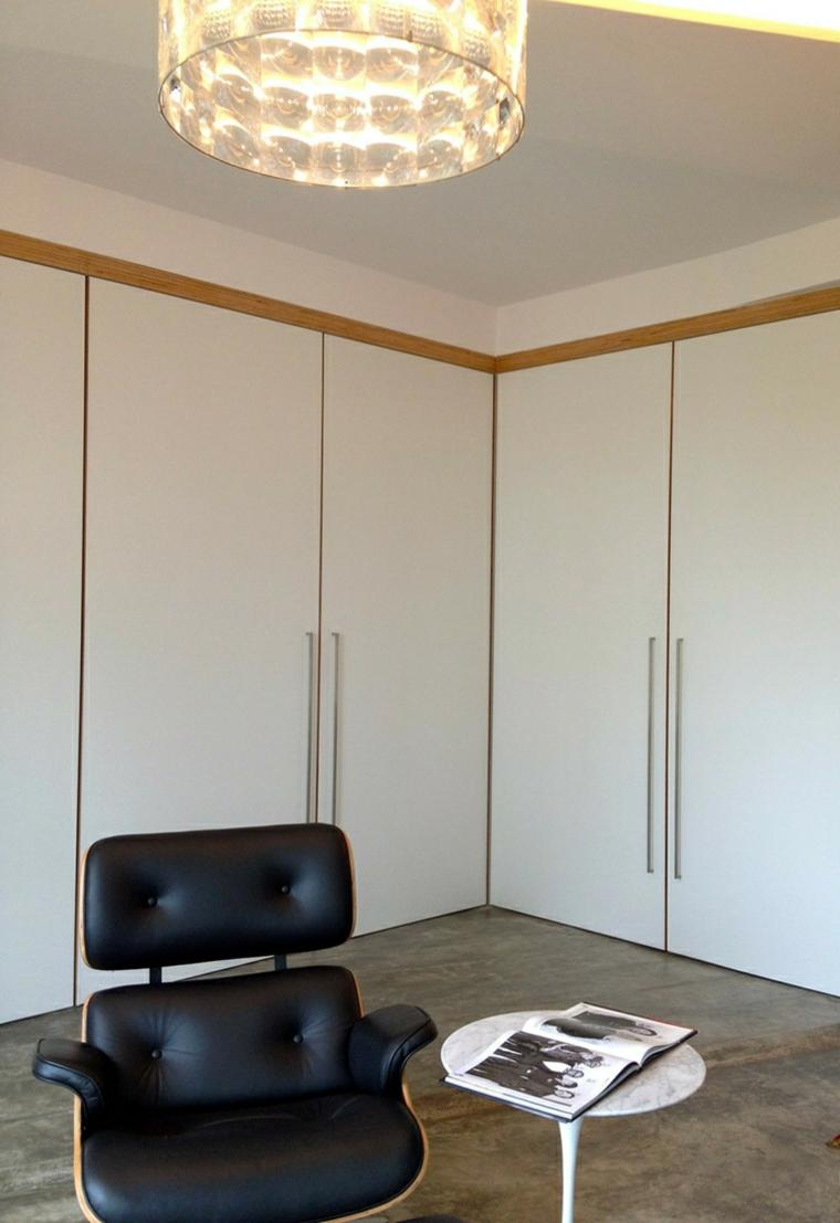 appartements distribution variantes bois fauteuils couleurs