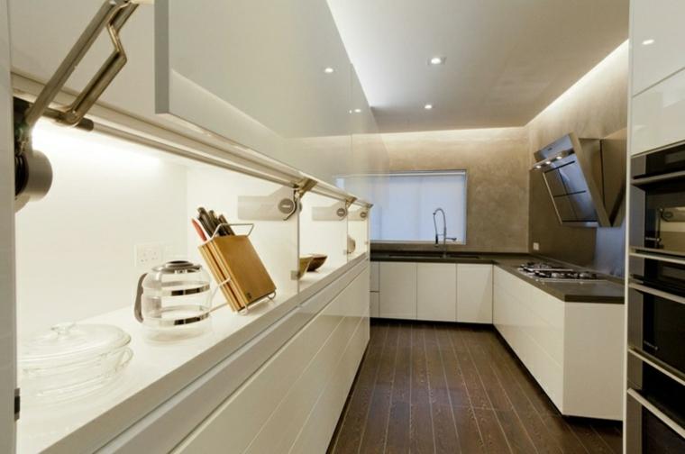 appartements distribution détails cuisines ponts