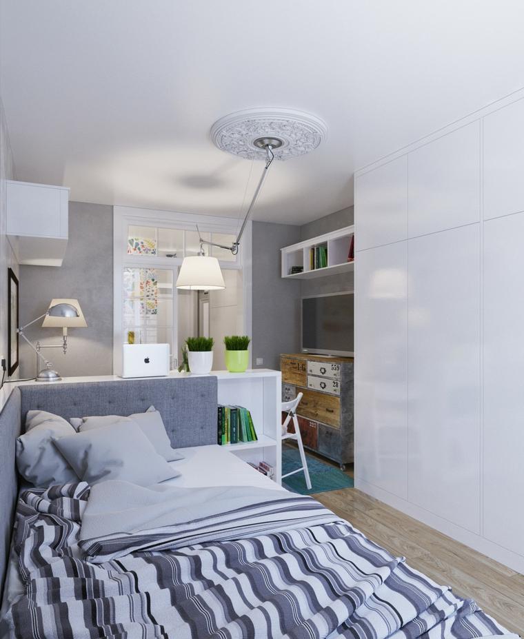salles de bains couplées chambres styles lampes chaleur