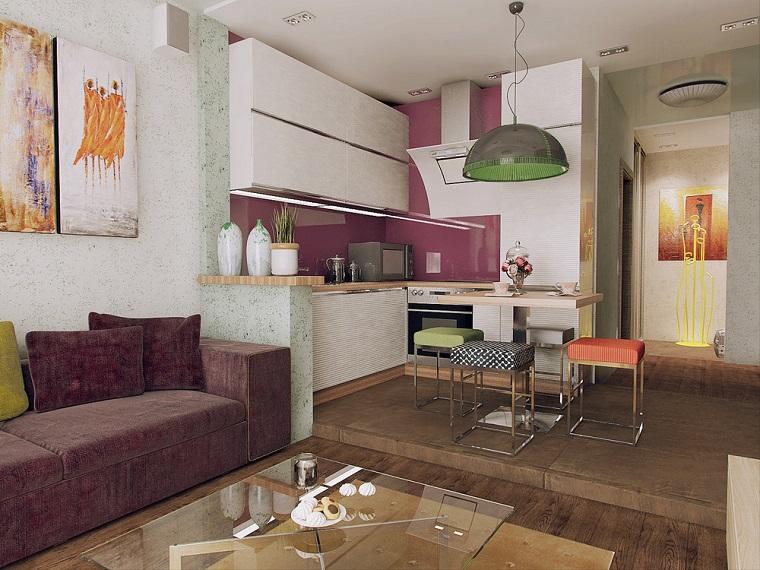 le salon vues contrôle les détails des fonctions du meuble