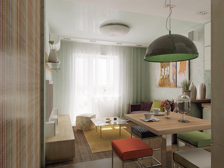 attrayant meubles en saillie boucles d'oreilles salles à manger