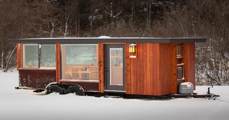 design extérieur bois corten
