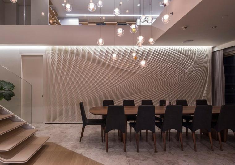 murs créativité différences poteaux ampoules