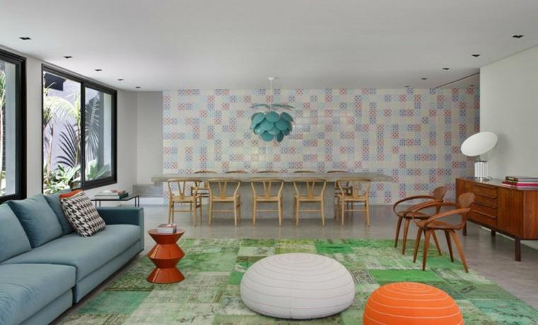 pensées couleurs conçoit des meubles orange