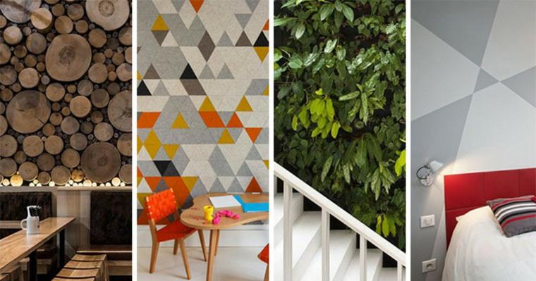murs créativité différences styles solutions