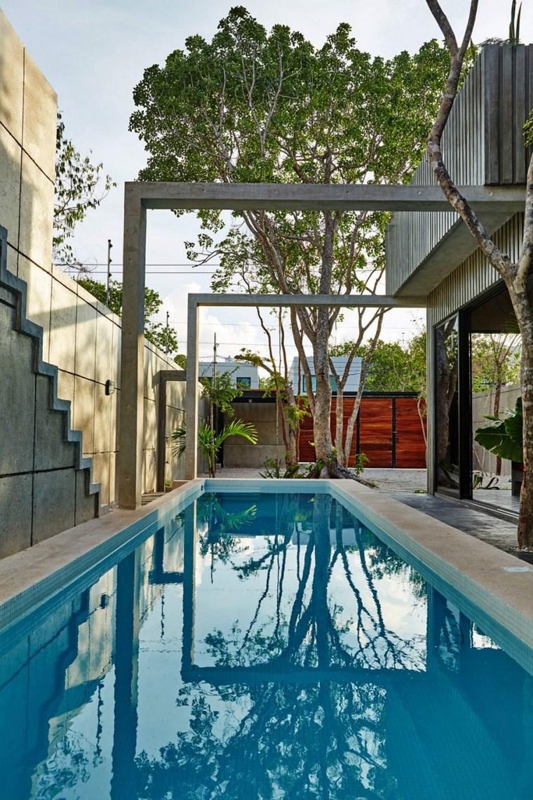 idées de piscine de jardin design mexique